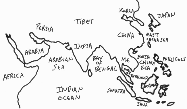 Map Of Asia No Names.Southeast Asia S Ocean Geography International Entrepots